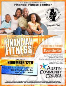 6th Annual Financial Fitness Seminar @ ACC Eastview Campus